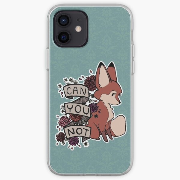 can you not iPhone Soft Case
