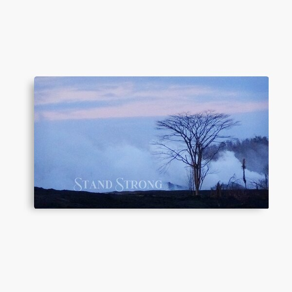 "AHT - Words Of Life  ""Stand Strong"" Canvas Print"
