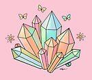 Rainbow Crystals by Karin Taylor