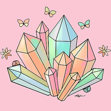 Rainbow Crystals by karin