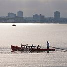 Boating on the Bay by Werner Padarin