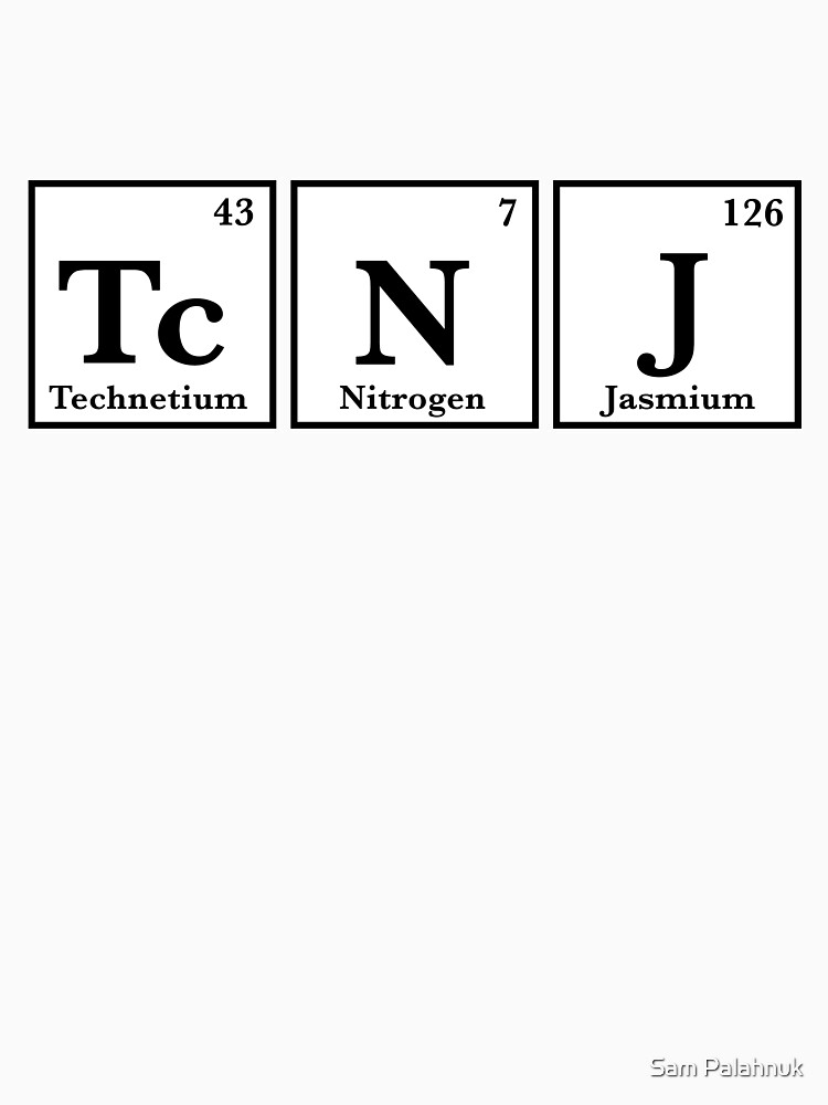 TCNJ Periodic Table sticker  by sampalahnukart