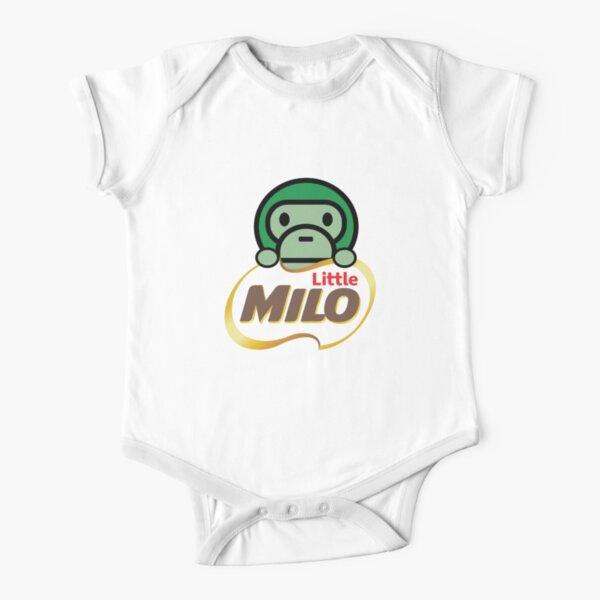 Pequeño mono Milo Body de manga corta para bebé