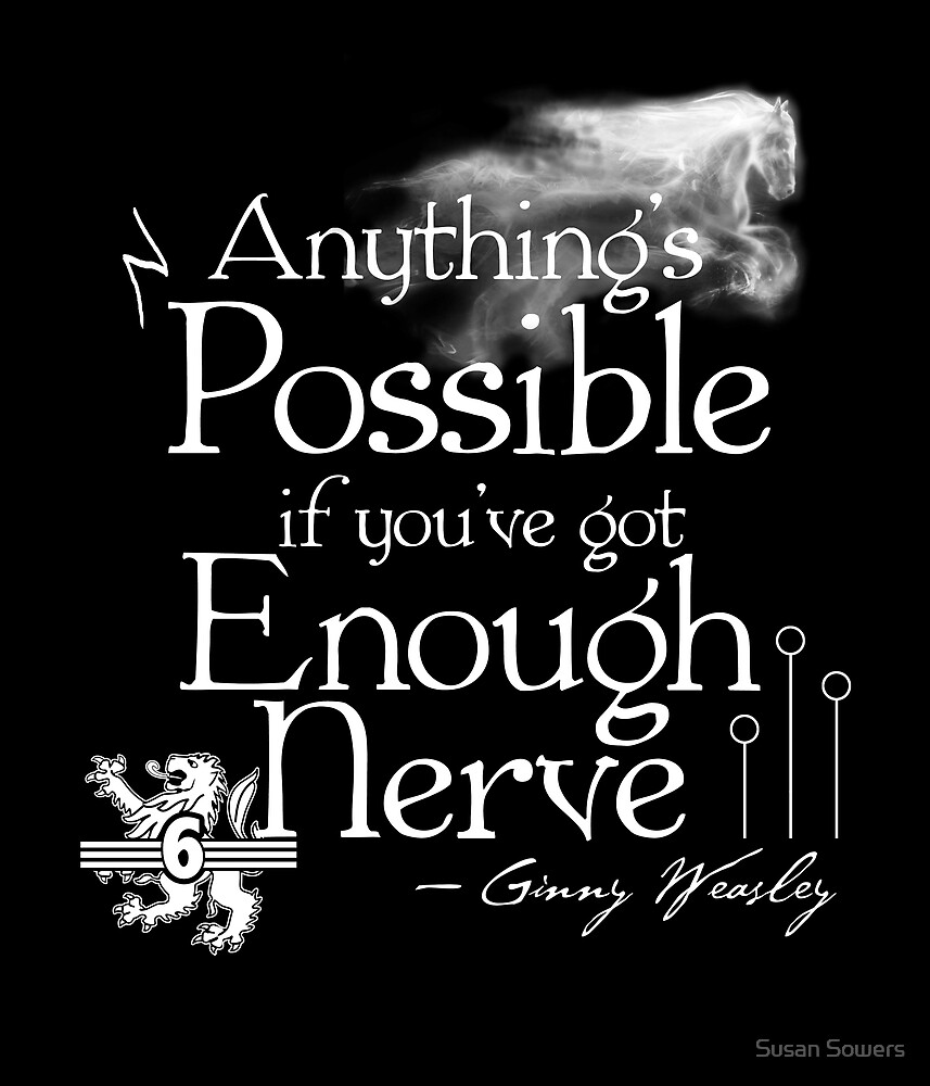 Anything's Possible If You've Got Enough Nerve by Susan Sowers