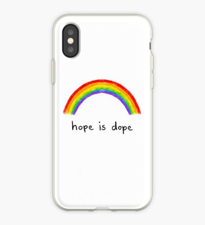 hope is dope  iPhone Case