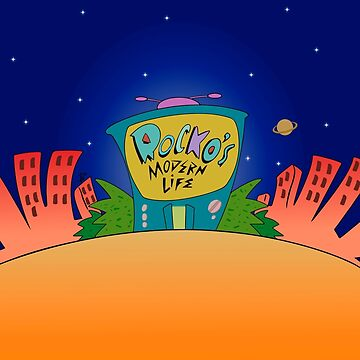 Rocko's Modern Life TV Intro by MarylinRam18