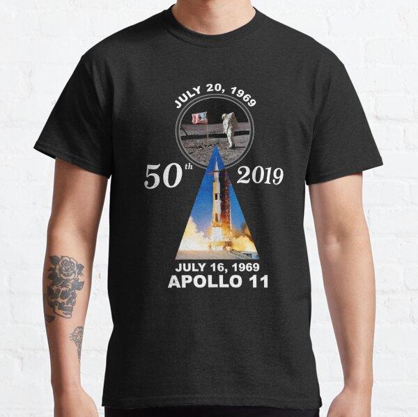 Apollo 11 50th Anniversary Moon Landing Classic T-Shirt