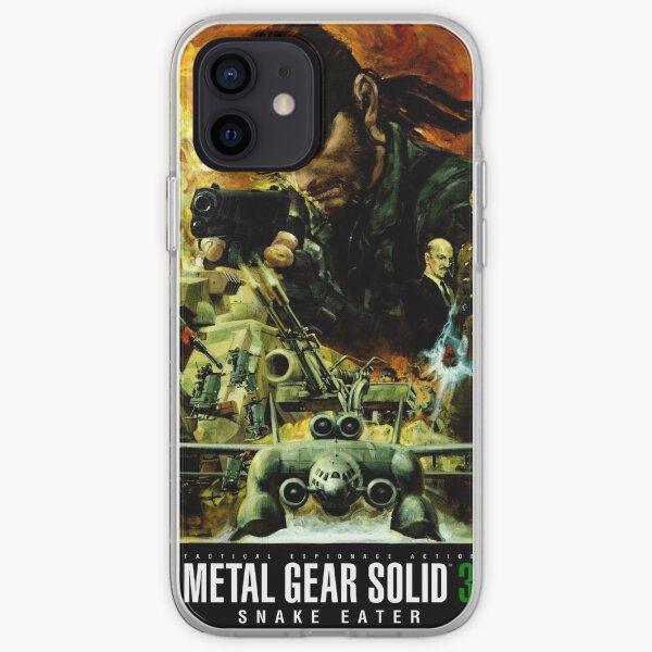 Metal Gear Solid 3 - Cartel de estilo de película Funda blanda para iPhone