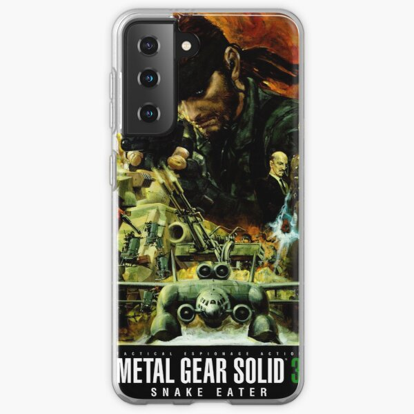 Metal Gear Solid 3 - Affiche de style film Coque souple Samsung Galaxy