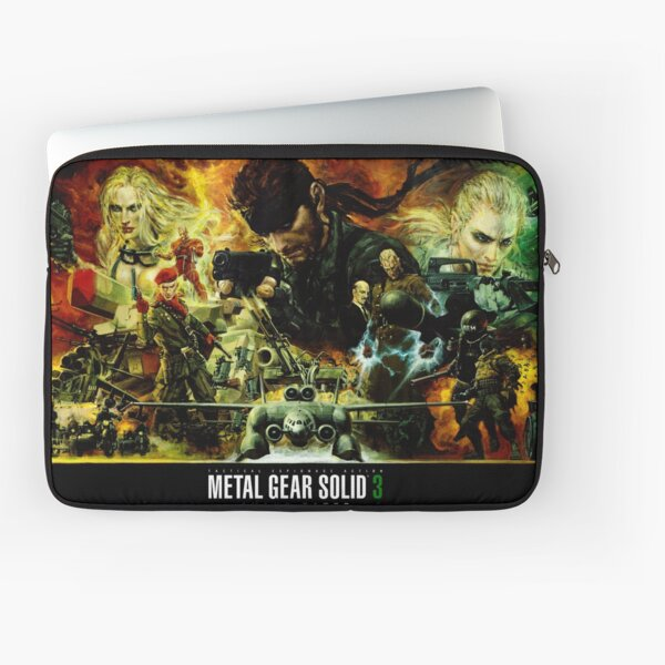 Metal Gear Solid 3 - Movie Style Poster Laptop Sleeve