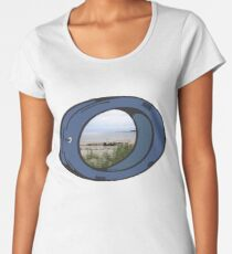 Tranquility ~ From Here To Eternity Premium Scoop T-Shirt