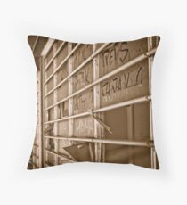 Wharves Warehouse Throw Pillow