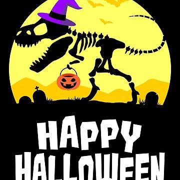 Trex Halloween Greetings by VomHaus