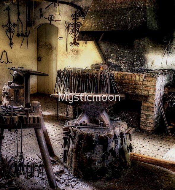 The Blacksmith by Mysticmoon