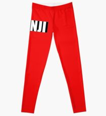 Monji (Japanese surname) Leggings