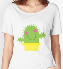 Cutie Cactus Women's Relaxed Fit T-Shirt