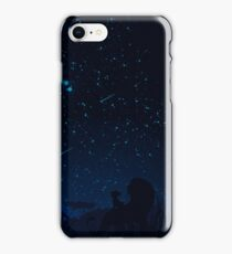 Looking at the stars iPhone Case/Skin