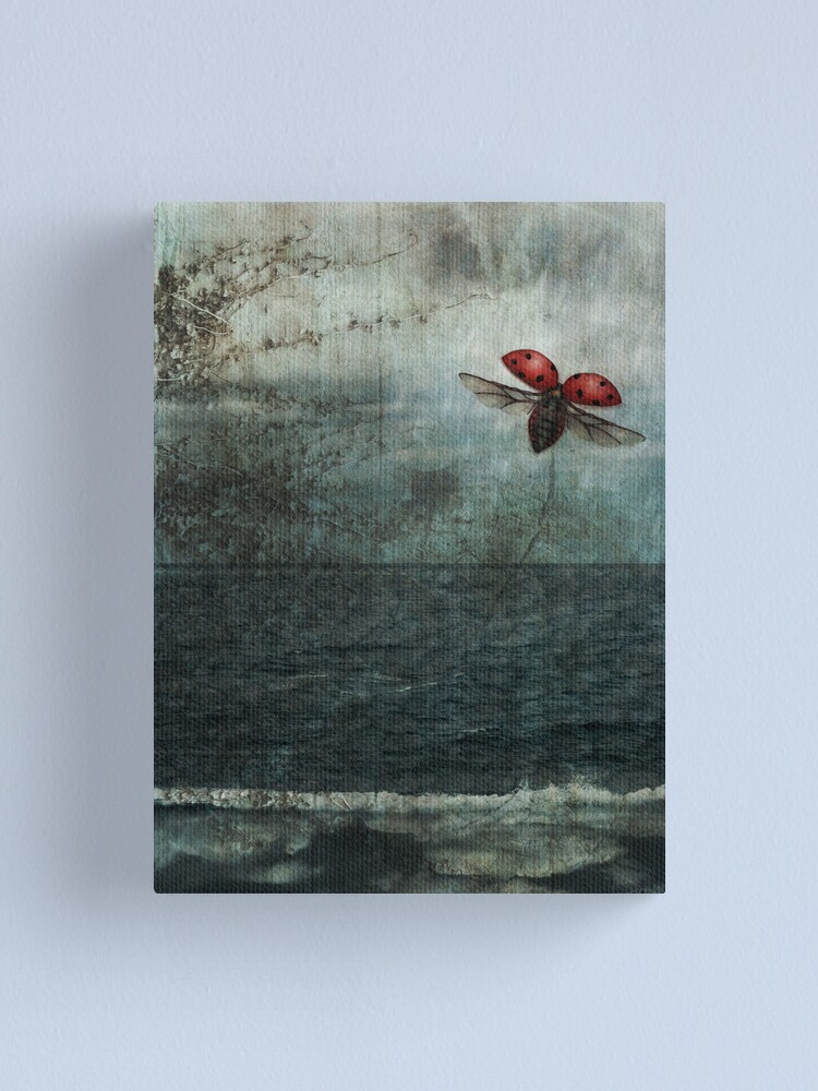 Alternate view of Over the Sea and Far Away Canvas Print