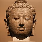 Buddha Head by jean-louis bouzou