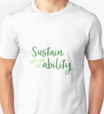 Sustainability Unisex T-Shirt
