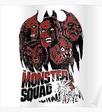 Monster squad - Horror T-shirt Poster