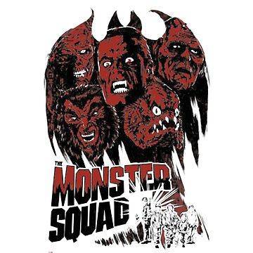 Monster squad - Horror T-shirt by giagri001