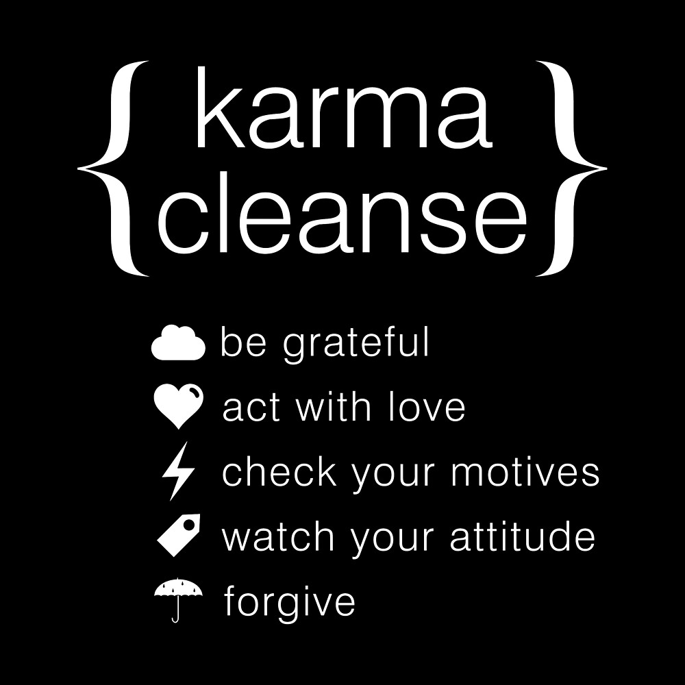 Cool Gift - Karma Cleanse by FDST-shirts