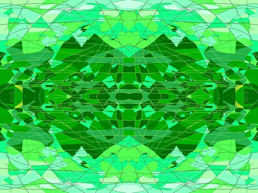 Emerald Greens by DaveDowling