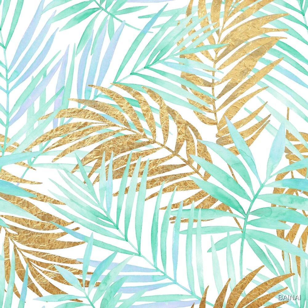 palm & gold °1 by BAINAI