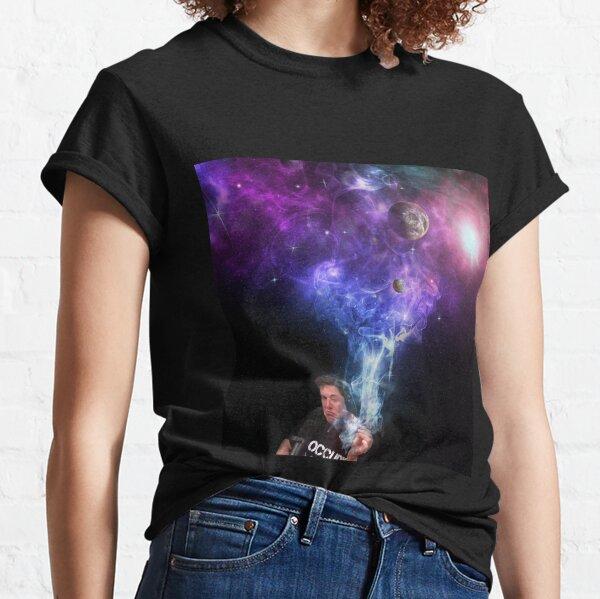 Elon Musk Fumer l'Univers T-shirt classique