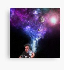 Elon Musk Rauchen des Universums Leinwanddruck
