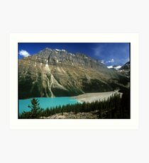 Mt. Edith Cavell in the Canadian Rockies Art Print