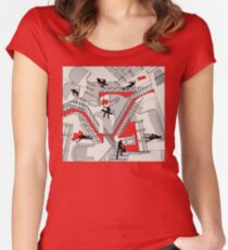 Home Improvement Women's Fitted Scoop T-Shirt