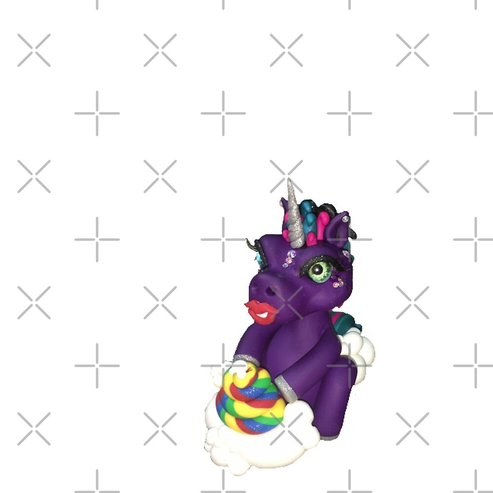Unicorn rainbow poop by CraftyGlamazon