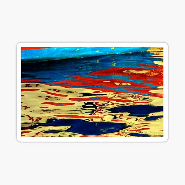 Red Reflection  Sticker