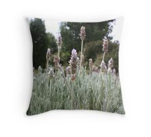 Bushes Throw Pillow