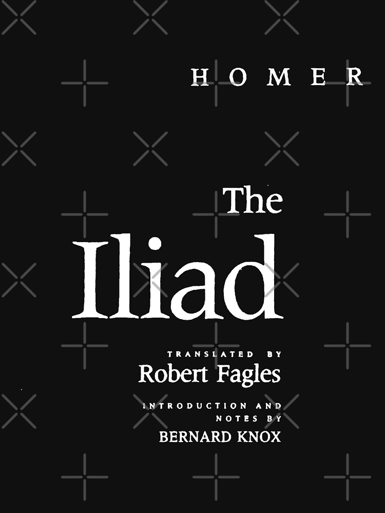 The Iliad Homer Title Page by buythebook86