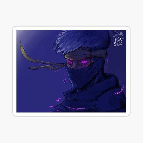 Ninja Fan Art Sticker