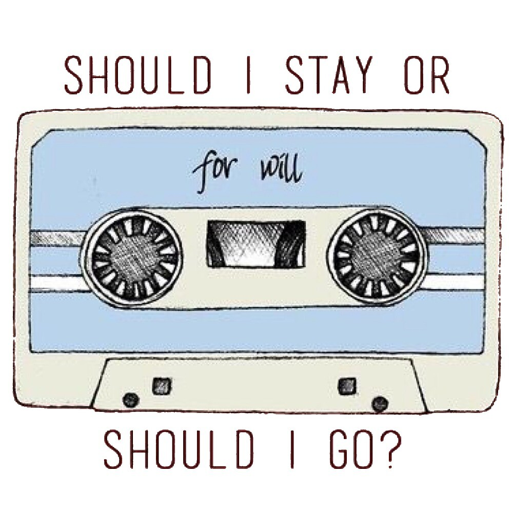 should i stay or should i go by laffsley