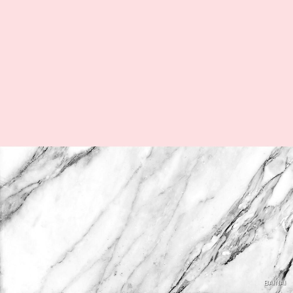 marble & rose by BAINAI