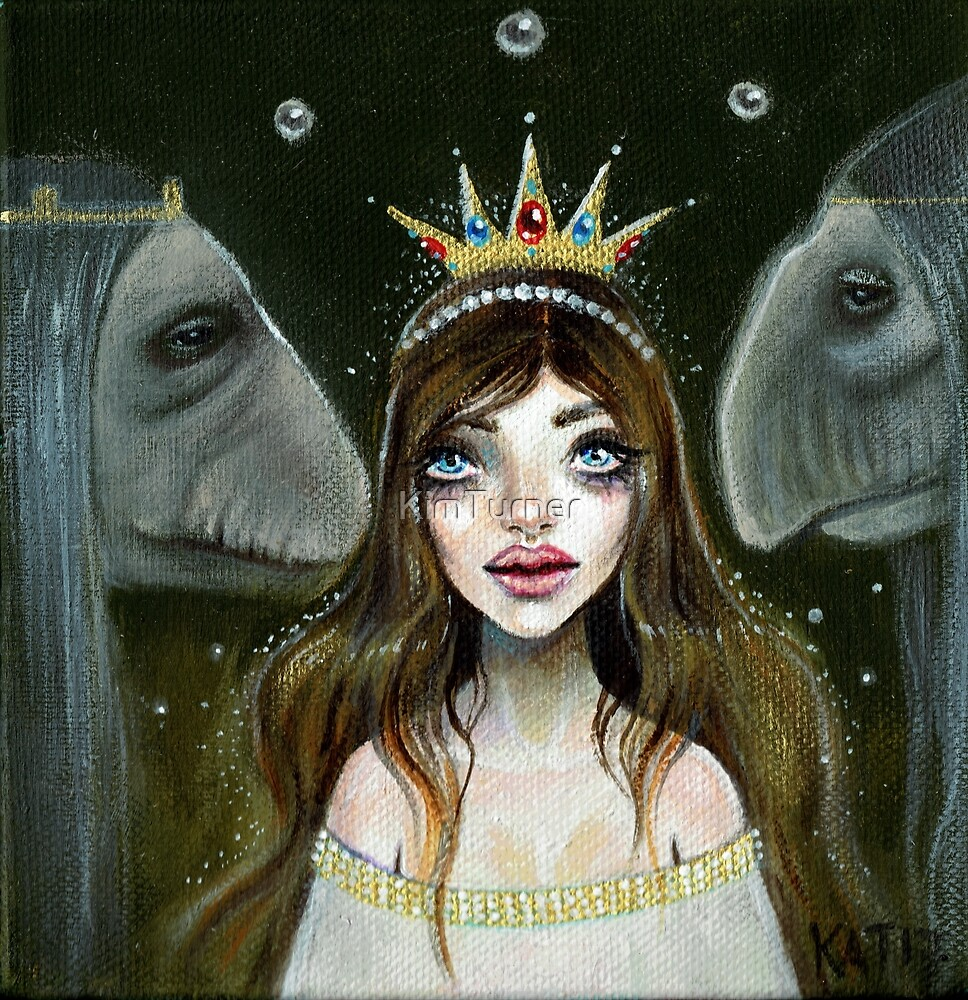 The Princess and her Trolls  by KimTurner