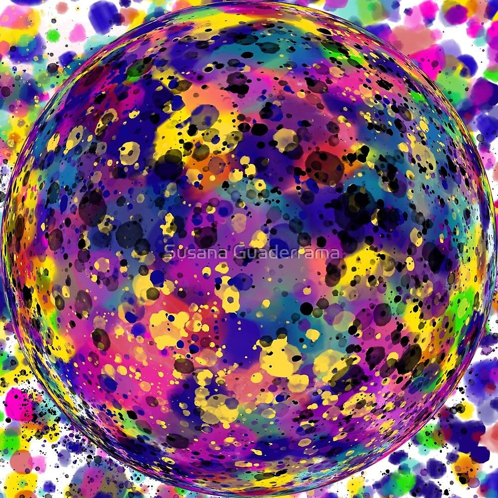 Sphere Abstract by Susana Guaderrama