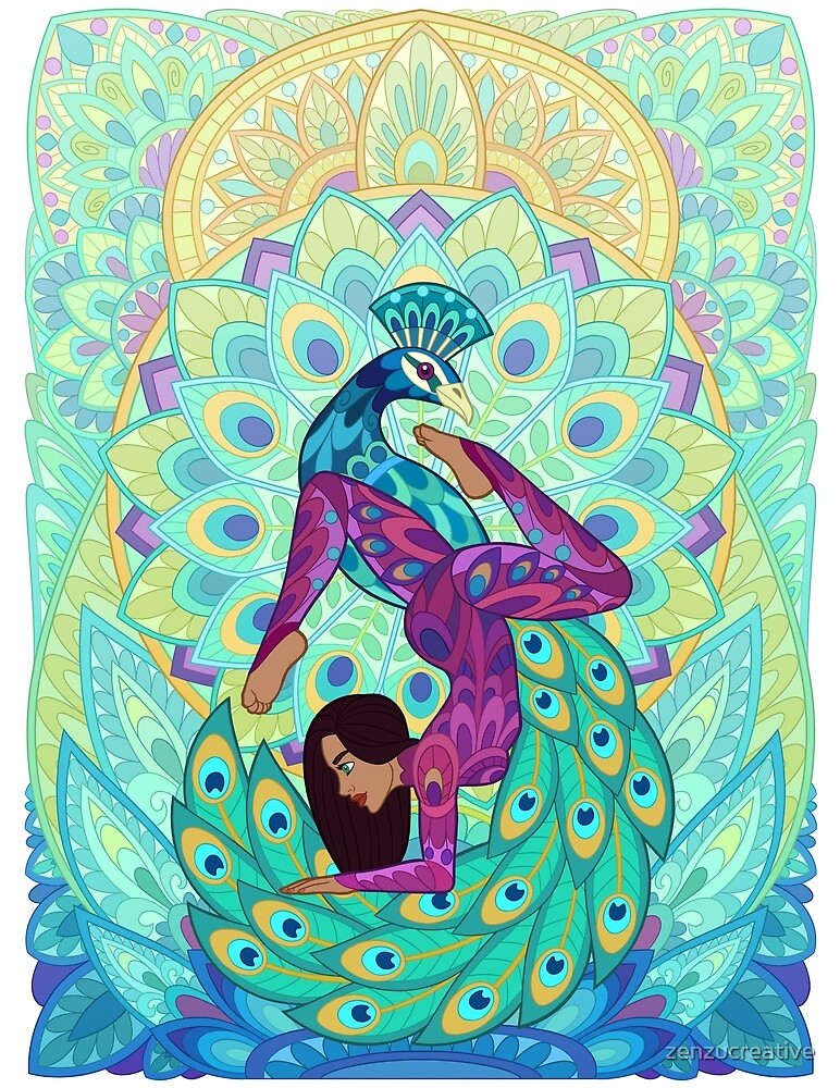 Yoga Pose & Patterns by zenzucreative