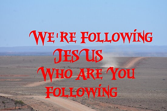 we're following  by Graham Buffinton