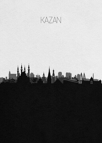 Travel Posters | Destination: Kazan by A Deniz Akerman
