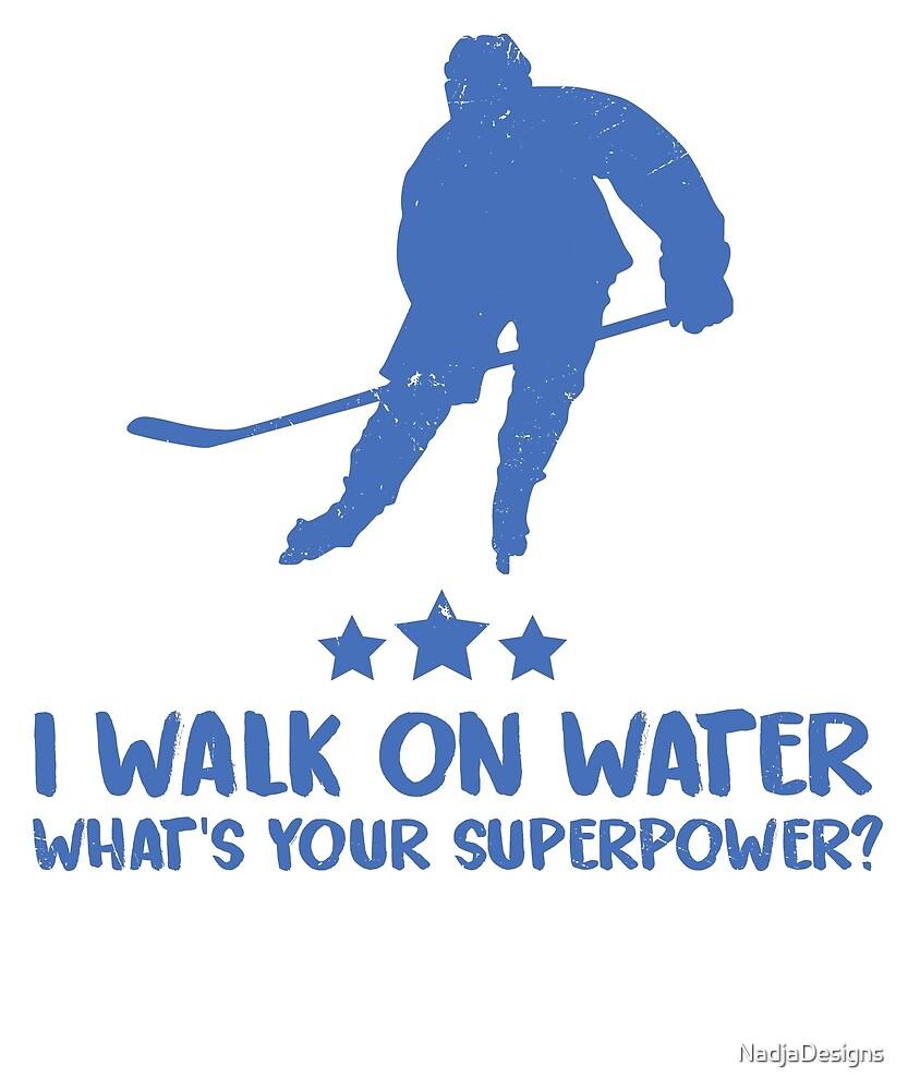 Ice hockey super power sports by NadjaDesigns