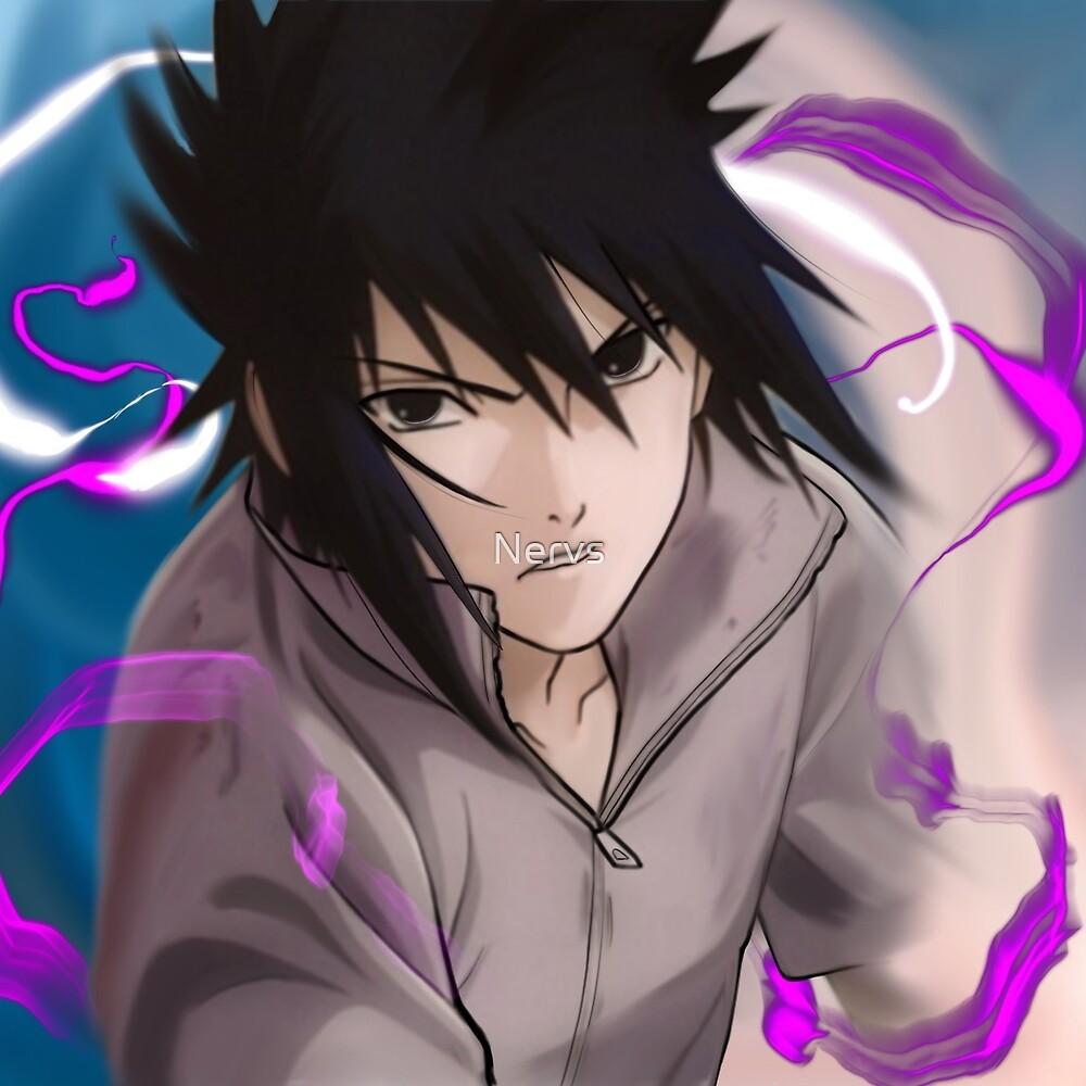 sasuke  by Nervs