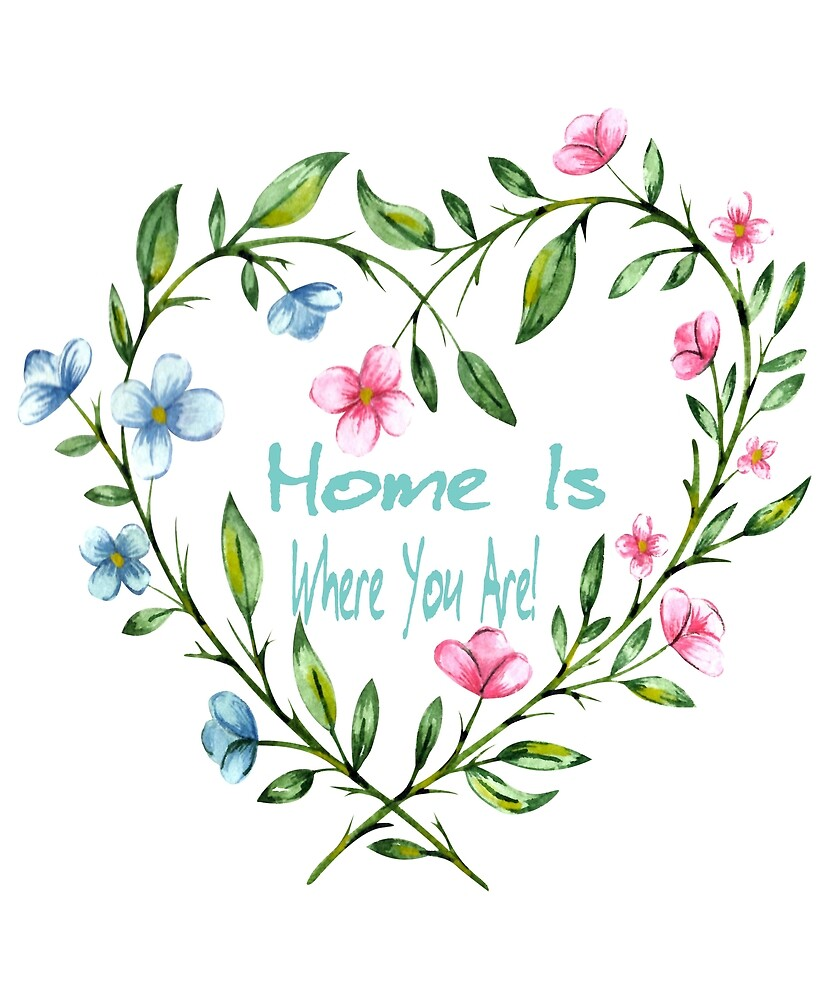 Home Is Where You Are Gifts by yourgiftshoppe