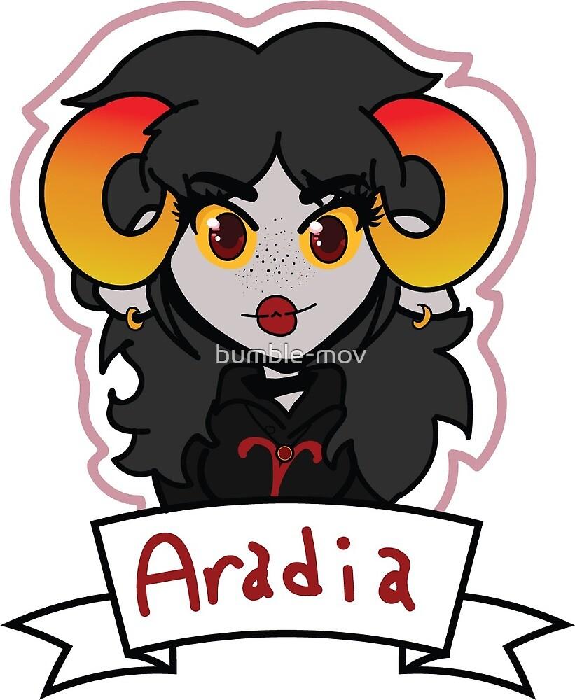 Aradia Megido - Homestuck by bumble-mov