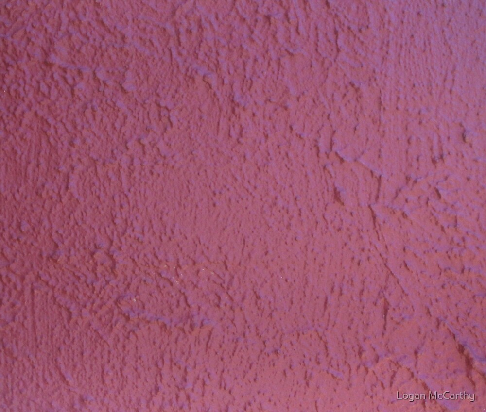 Red Rumply Wall 3 by Logan McCarthy
